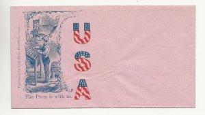 United States Patriotic Civil War Unused Cover
