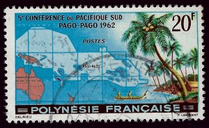 French Polynesia SC#198 Used F-VF...A World of Stamps!