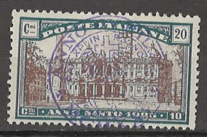 COLLECTION LOT # 4320 ITALY #B20 1924 CV+$12.50
