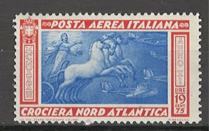 COLLECTION LOT # 4314 ITALY #C48 MH 1933 RIGHT PART
