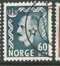 Norway - 316 - Used - SCV-0.25