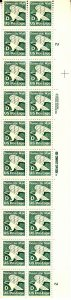 UNITED STATES 2111 PB MNH BLOCK OF 20 2019 SCOTT SPECIALIZED CATALOGUE VAL$17.50