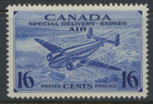 Canada  SG S13 MH  AIR Special Delivery War Effort SC# CE1   see detail and s...