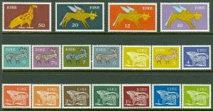 EDW1949SELL : IRELAND 1971-75 Scott #290-304 Complete set. VF, Mint NH. Cat $46.