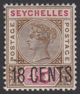 Seychelles 27 MVLH CV $11.50
