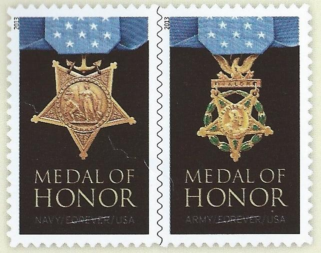 4822-4823 Medal of Honor World War II S111111 Folio
