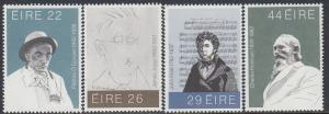Ireland 521-4 MNH - Arts and Literary Figures