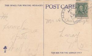 United States Missouri Alexandria 1908 doane 3/7  PC.