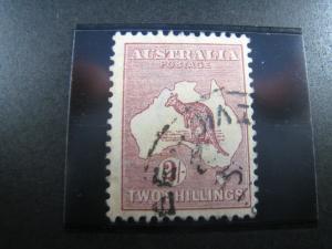AUSTRALIA - SCOTT #53   Used   (APS A-31)