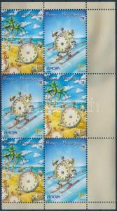 Bosnia Herzegovina stamp Europa CEPT,vacations set in corner block of 6 WS193561