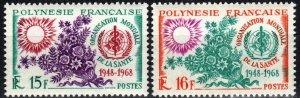 French Polynesia #241-2 MNH CV $22.00 (X7183)