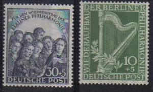 Germany  #9NB4 -5 mint VF NH -   Lakeshore Philatelics