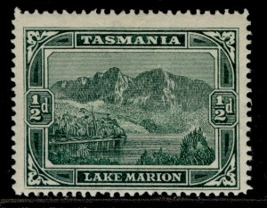 AUSTRALIA - Tasmania QV SG229, ½d deep green, M MINT.