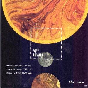 Tuvalu. 2014. Astronomy. MVLH.