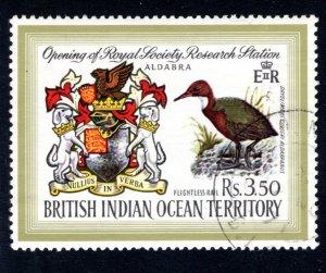 British Indian Ocean Territory, Scott 43  VF,  Used, CV $11.00 ..... 0870029