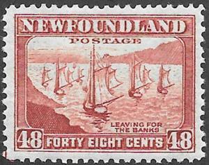 Newfoundland Scott Number 266 FVF H