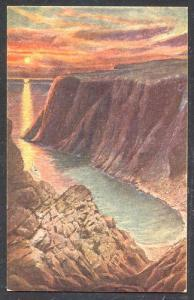 NORWAY Colorful NORDCAP postcard, unused, VF