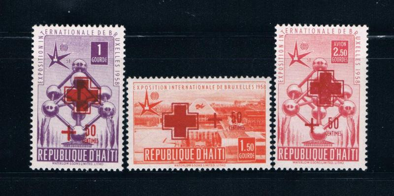 Haiti B2-3;CB9 MNH set Red Cross  (H0051)