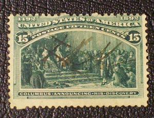 United States Scott #238 used