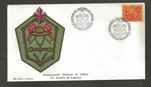1964 Portugal Scouts Acampamento Nacional do Jubileu Antonio da Caparica