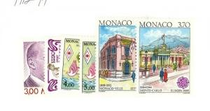 Monaco Scott 1712-1717 NH    [ID#427490]