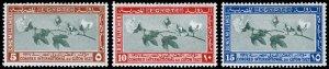 Egypt Scott 125-127 (1927) Mint H VF Complete Set, CV $8.00 C