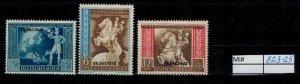 Deutschland Reich TR02 DR Mi 823-25 1939 Reich Postfrisch ** MNH