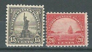 USA 696,698   Mint NH   1931 PD