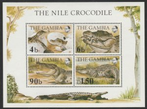 Gambia #518A MNH Souvenir Sheet cv $8.50