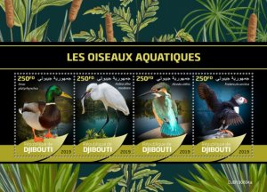 DJIBOUTI / 2019 Water birds.