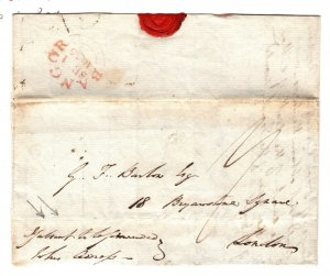 GB Wales Cover Bangor CDS *If absent to be forwarded* Endorsement EL 1835 ZB74