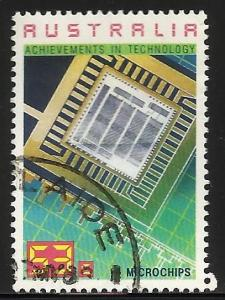 Australia 1987 Scott# 1037 Used (corner crease)