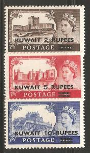 Kuwait SC 117-19 Mint, Never Hinged