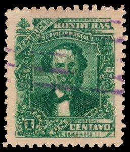 HONDURAS STAMP 1893 SCOTT # 76.