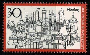 GERMANY 1970 TOURISM NUREMBERG SG1587 MINT (NH) SUPERB