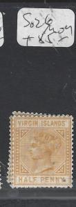 TURKS  ISLANDS (P3009B)  QV  1/2D  SG 26   MOG