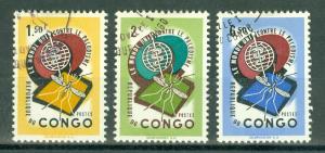Congo - Democratic Republic - Scott 414-416
