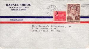 Cuba 1c Proposed Communications Building Postal Tax and 12c Ryder 1957 Habana...