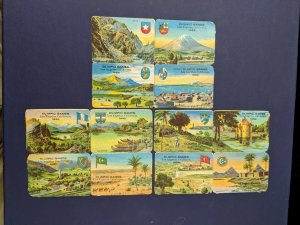 U.S. 1932 Los Angeles Olympics embossed labels, CV $60