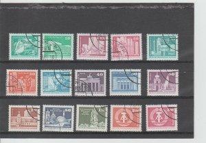 Germany DDR  Scott#  2071-2085  CTO  (1980-1)
