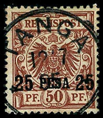 GERMAN EAST AFRICA 5a  Used (ID # 55665)