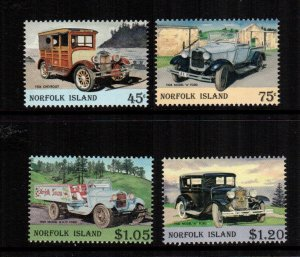Norfolk Islands 569 - 572  MNH  $7.65