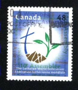 Canada #1992   used VF 2003 PD