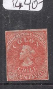 Chile 5c Columbus MNG (5dmm)
