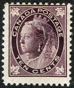 CANADA Sc 73 Original Gum Hinge Thin Spot