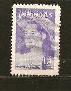 Philippines 1196 Gabriela Silang Used
