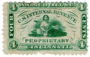 (I.B) US Revenue : Private Die Proprietary 4c (AL Scovill & Co)