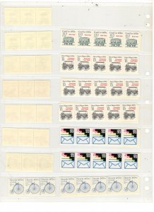 US COIL PAIR/STRIP COLLECTION, MNH