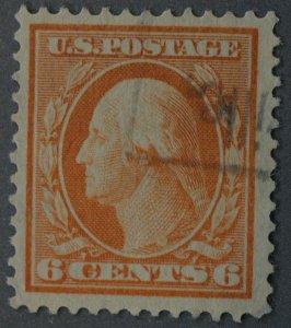 United States #379 6 Cent Washington Used