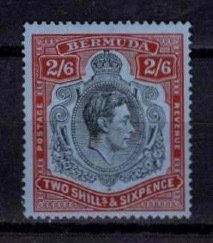 Bermuda 1938-53 George VI Definitive 2/6